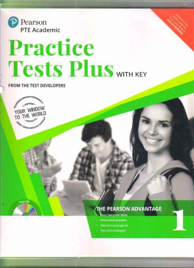Picture of Practice Tests Plus With Key PTE Academic Vol 1