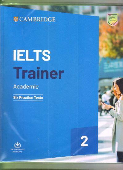 Picture of Cambridge IELTS Trainer Academic Six Practice Tests